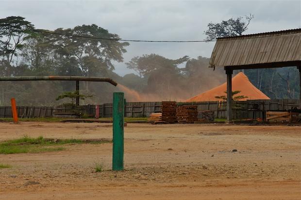 GWZ Wijma sawmill, Nguti, Southwest Region, Cameroon